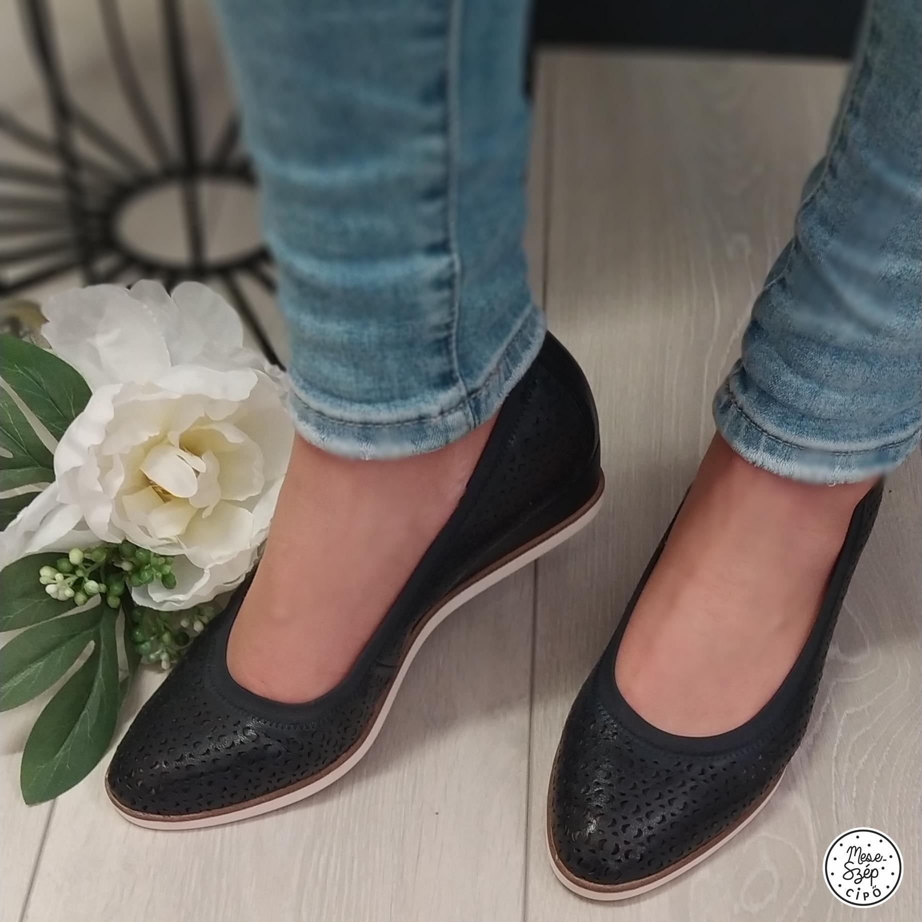 Tamaris éktalpú cipő