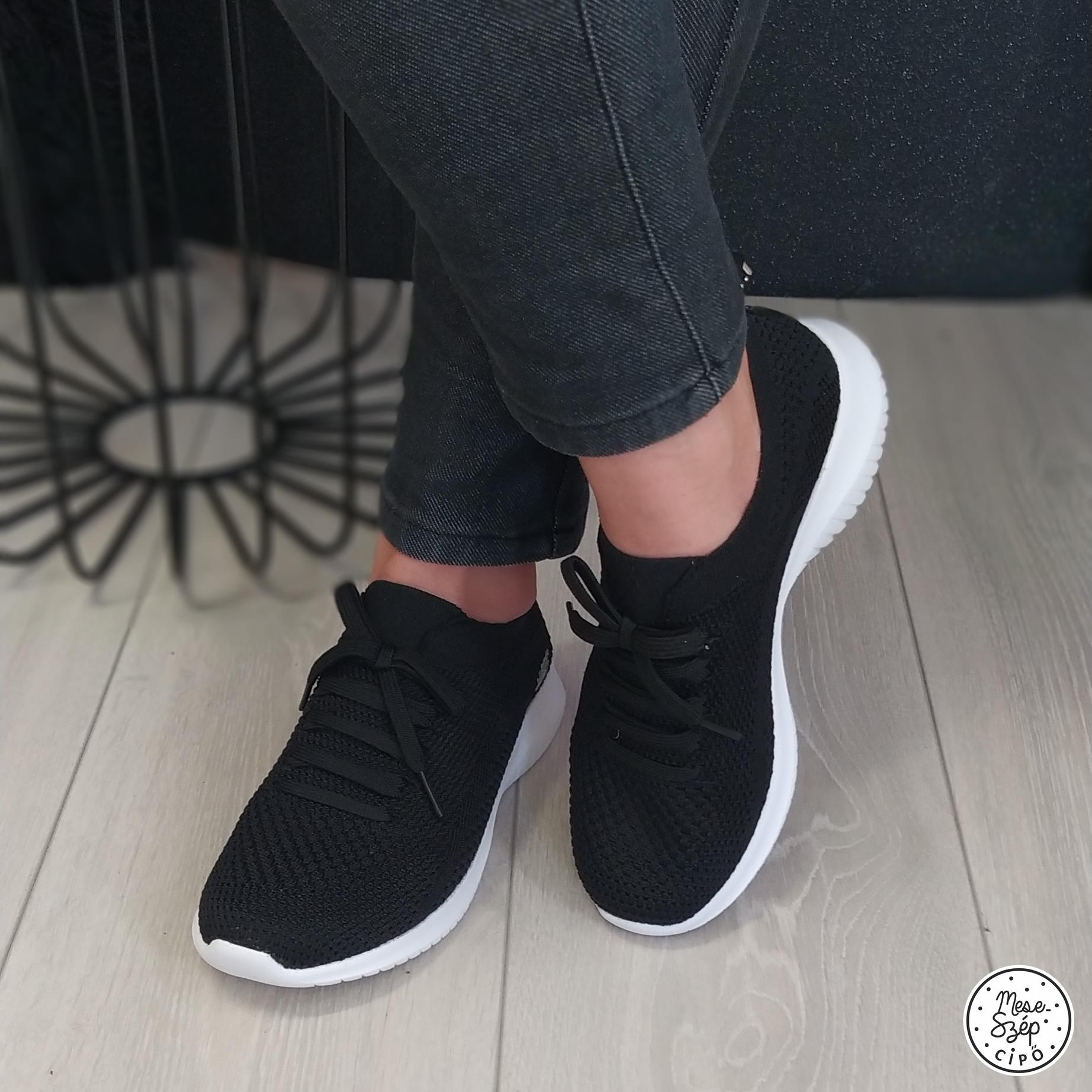 Skechers fekete sportcipő