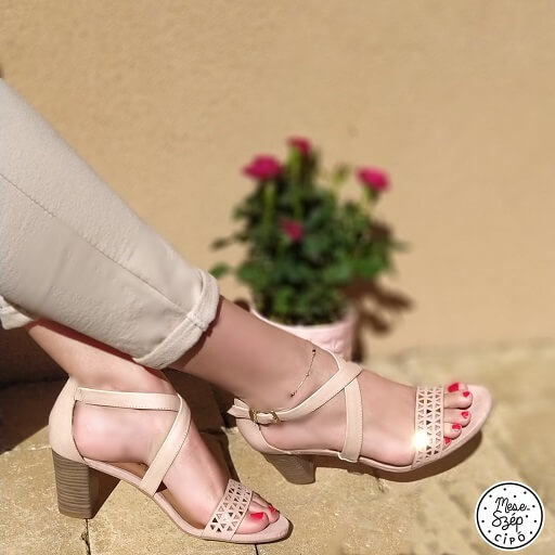 Tamaris touch-it rose szandál