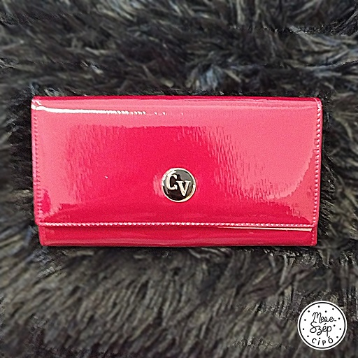 Cavaldi bőr piros pénztárca